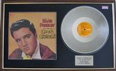 Elvis Presley - Platinum Disc & Cover - King Creole